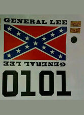 "1/8 1/5 Scale Accessory ""General Lee"" Sticker/Decal Set Plus"