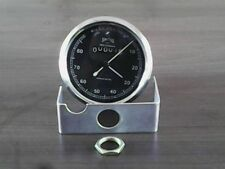 NEW SMITH SPEEDOMETER 0-80 MPH WITH BLACK LOOK FOR BSA MOTORCYCLES