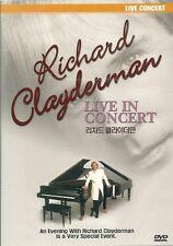 RICHARD CLAYDERMAN  LIVE CONCERT  NEW  DVD