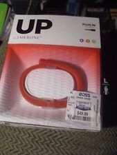 NEW sealed  UP BY JAWBONE FITNESS ACTIVITY TRACKER RED SIZE LARGE Free Shipping