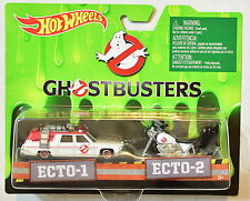 HOT WHEELS GHOSTBUSTERS ECTO-1 & ECTO-2 2 CAR PACK