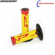 NEW PRO GRIP 788 TRIPLE COMPOUND GRIPS FLUO / RED FOR HONDA CR125 CR250 1996