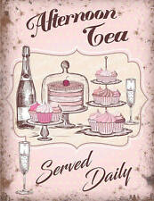 Afternoon High Tea Champagne Cafe Shabby Chic Tearooms Novelty Fridge Magnet