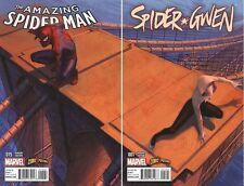 AMAZING SPIDER MAN #15 SPIDER-GWEN #1 COMICXPOSURE EXCLUSIVE VARIANT COVER SET!