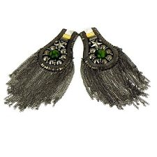 INCA Kuchi Afghan Banjara Tribal Epaulet Shoulder pair Board Badge Jacket AF3