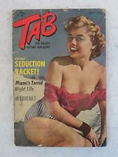 Vintage TAB Magazine May 1952 CLEO MOORE, SHEREE NORTH, JACKIE FONTAINE & More!