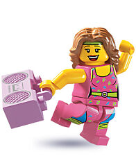 Lego 8805 Minifig Series 5 Fitness Instructor