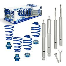 KIT AMORTISSEURS SUSPENSIONS COMBINES FILETES AVANT ARRIERE BMW SERIE 3 E30 51MM