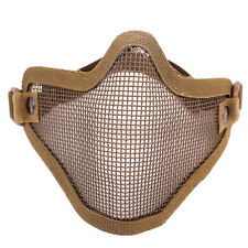 Metal Mesh Tactical Airsoft Protective SKULL Mask Toy Guns Foam Bullets For Nerf