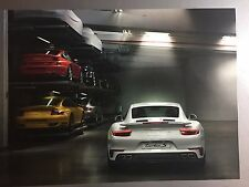 2016 Porsche 911 Turbo S Coupe Showroom Advertising Sales Poster RARE!! Awesome