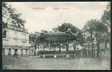C1910 View of the Band Stand 'Place et Kiosque' Maubeuge, France
