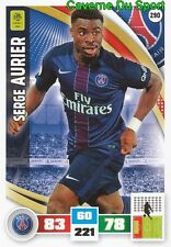 290 SERGE AURIER IVORY COAST PSG PARIS.SG CARD ADRENALYN LIGUE 1 2017 PANINI
