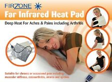 firzone electric infrared heat heated multi-positional therapy pad pain relief