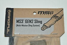 Magpul MAG514-COY Coyote MS3 GEN-2 Sling Multi-Mission 1/2-Point System New