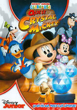 NEW Mickey Mouse Clubhouse: Quest for the Crystal Mickey (DVD, 2013)