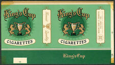 Philippine KING'S CUP Cigarette Label