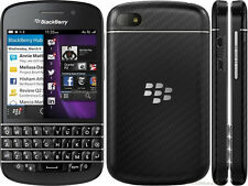 USED Blackberry Q10 Black Unlocked GSM Qwerty Keypad Smartphone