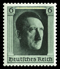 EBS Germany 1937 Hitler's 48th Birthday Michel 646 MH*