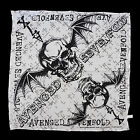 AVENGED SEVENFOLD - WHITE CROSS BANDANA - Official Shirt & Headwear - NEW