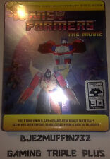 TRANSFORMERS: THE MOVIE LIMITED EDITION BLU-RAY STEELBOOK + FOLDED POSTER