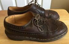Dr Martens Brown Wingtips Size 7 Men's Made In England Original Shoes