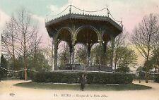 France - Reims, Kiosque de la Patte d'Oie - 1900's Postcard