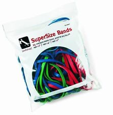 "Alliance Rubber Supersize Rubber Bands - 12"", 14"", 17"" Width X 250 Mil, 250 Mil,"