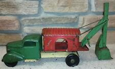 "21"" Turner Toys Mobile Steam Shovel Truck 1930s Steelcraft/Wyandotte/Marx Marion"