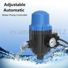 Adjustable Water Pump Automatic Pressure Controller Electronic Switch 240V 10A