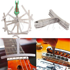 Set of 9 Guitar Understring Radius Gauge For Guitar Bass Setup Luthier Tools