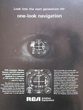 4/1969 PUB RCA AVIATION EQUIPMENT AVN-210 INDICATOR EYE OEIL ORIGINAL AD