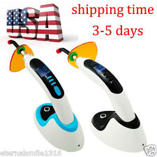 Dental Cl6 Wireless Cordless LED Curing Light Lamp  Teeth Whitenning US SHIP