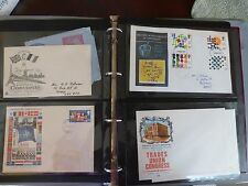VINTAGE Stamps 16 UK FIRST DAY COVERS 1960s's -70s Concorde/ Nato/RAF in Binder