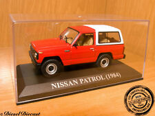 NISSAN PATROL RED-WHITE 1984 1:43 WITH BOX!! MINT!!!