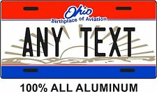Ohio License Plate **  ANY TEXT **  Vanity license plate, Ohio, replica plate,