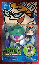 Dexter's Laboratory SUPERROBOT toy SEALED cartoon network