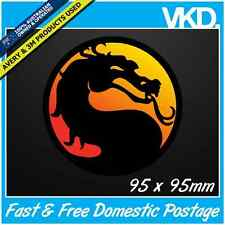 Mortal Kombat Sticker/Decal - Street Fighter Game Retro Laptop SNES Sega Vinyl