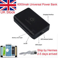 6000mAh Portable External USB Power Bank Battery Pack Charger for Mobile Phone