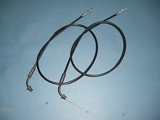 YAMAHA SR 500 SR500 Gaszug Set öffner schließer A+B 2J4 new throttle cable set