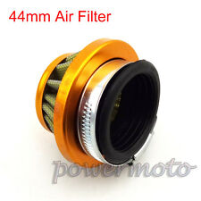 44mm Air Filter Cleaner For MiniMoto Dirt Pocket Bike Buggy Go Kart ATV Quad