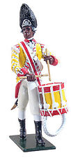 BRITAINS SOLDIERS REDCOATS,BRIT 29th REGIMENT OF FOOT DRUMMER 1768 NCO 44025