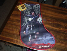 NEW Walking Dead Daryl Dixon Christmas Stocking Angel Wings Motorcycle