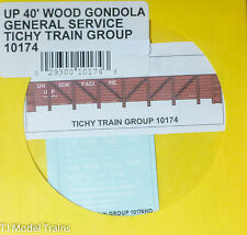 Tichy Train Group #10174 Decal for: Union Pacific GS Wood Gondola