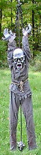 Brand New Animated Hanging Zombie Halloween Prop