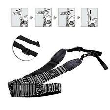 Camera Shoulder Neck Belt Strap Fit For DSLR Canon Nikon Sony Panasonic Vintage