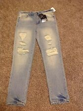 Almost Famous Premium High Rise Destructed Women's Jeans NWT Size 5 Tillys