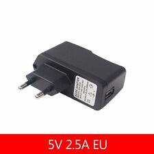 5V 2.5A Raspberry pi AC 100-240V DC EU Plug USB Power Supply Adapter Charger