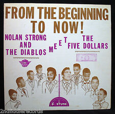 NOLAN STRONG+THE DIABLOS Meet THE FIVE DOLLARS-From The Beginning Album-FORTUNE