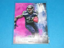 2015 Inception EARL THOMAS #88 Magenta SP/99 Seattle SEAHAWKS - Texas LONGHORNS
