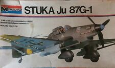 Vintage Monogram German WWII Stuka Ju 87G-1 1:48 scale  Model Kit #6840